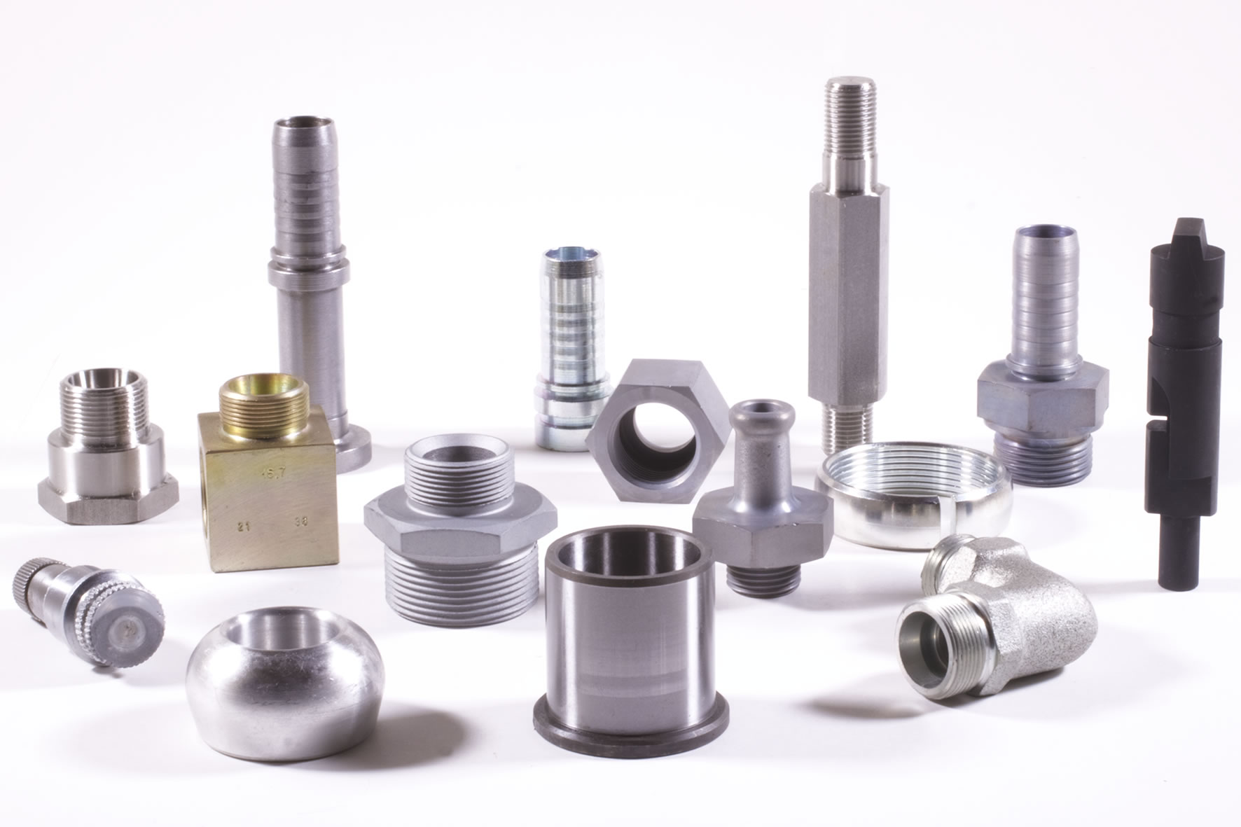 Manufacture of turned and machined parts on multi-spindle and CNC lathes
