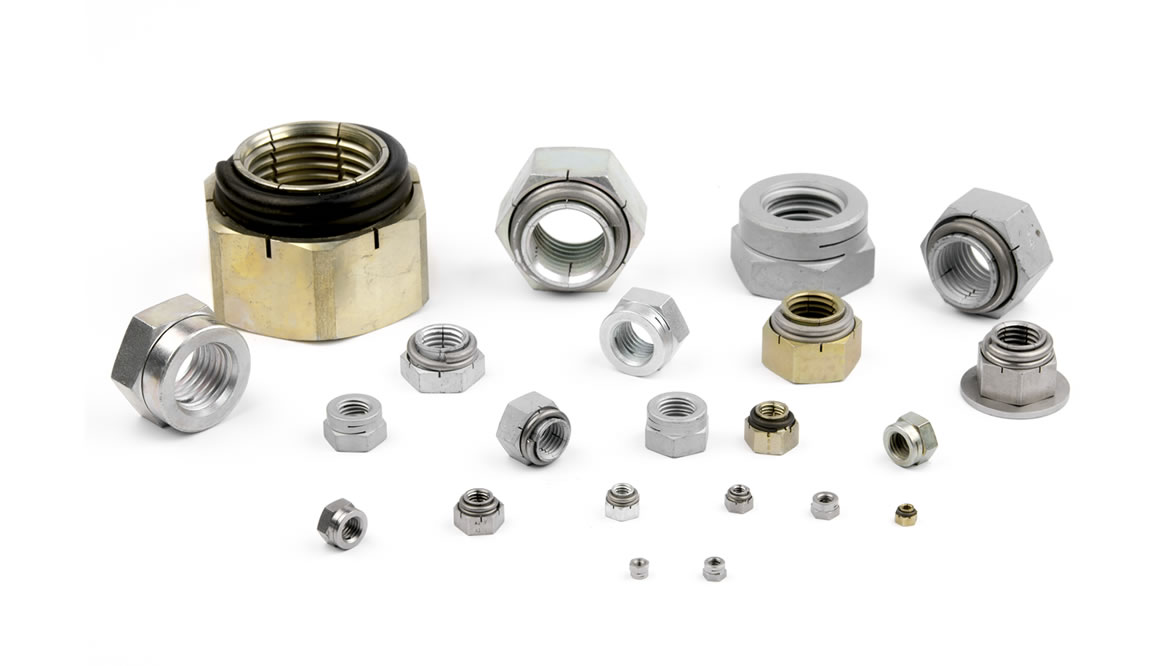Manufacture of self-locking security nuts